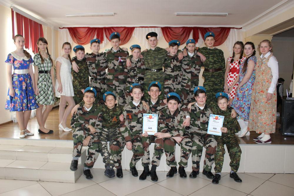 Военный инсценированный конкурс